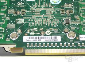 POV GeForce 8800 GTS Bezeichnung