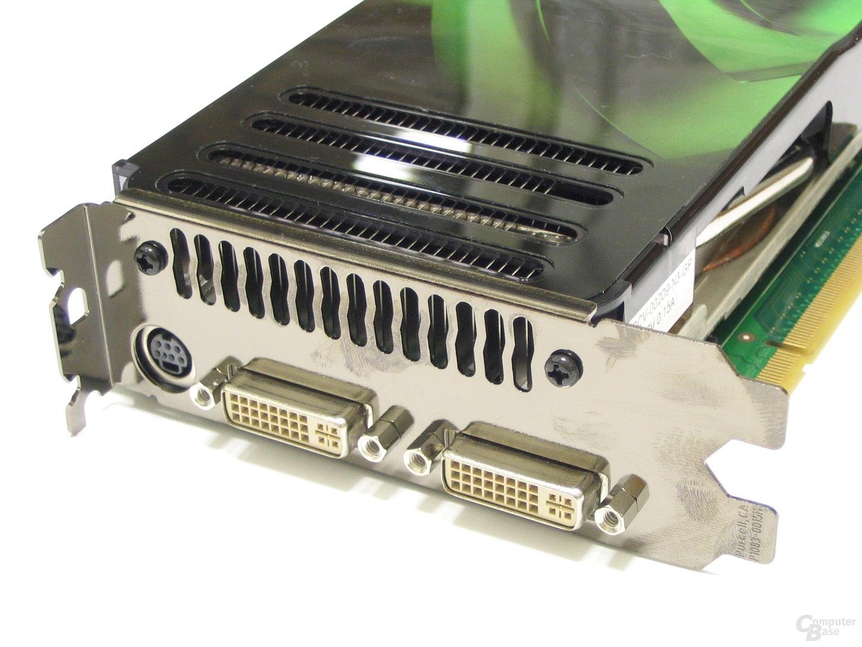 POV GeForce 8800 GTS Slotblech