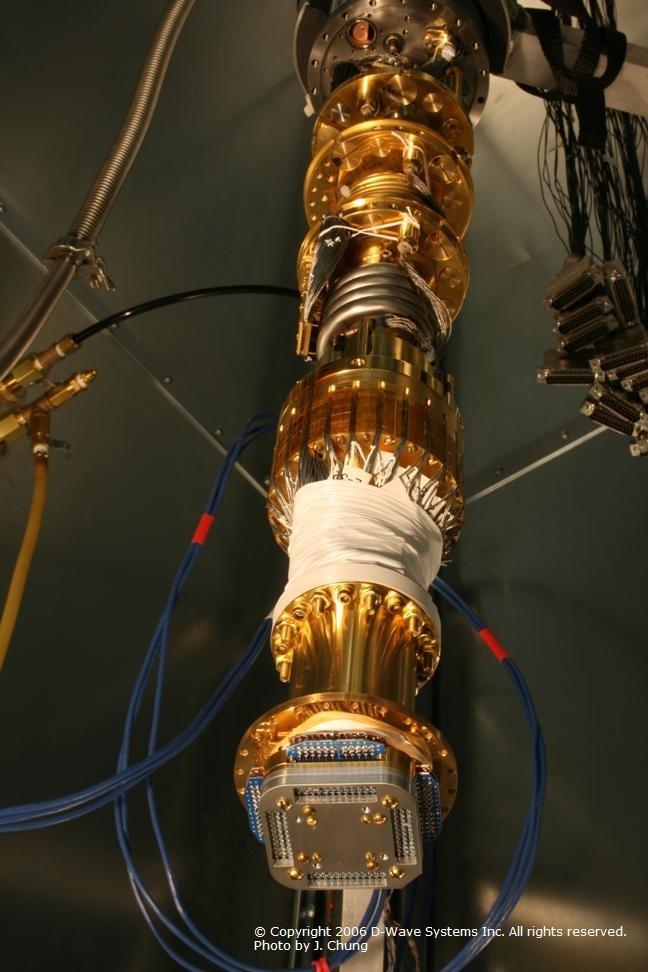 Sample des Orion-Prozessors an seiner Kühlvorrichtung