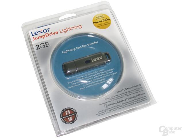 Lexar JumpDrive Lightning: Verpackung