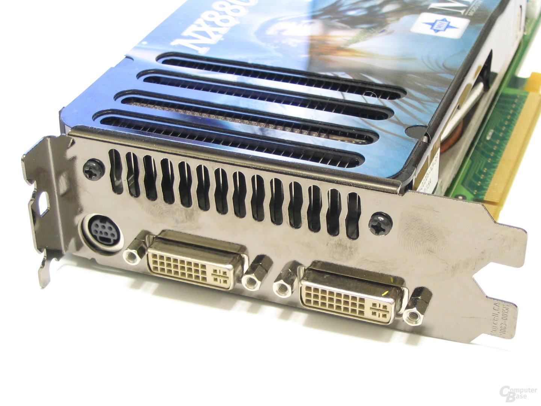 MSI 8800 GTS 320 OC Slotblech