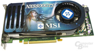 MSI GeForce 8800 GTS 320 OC
