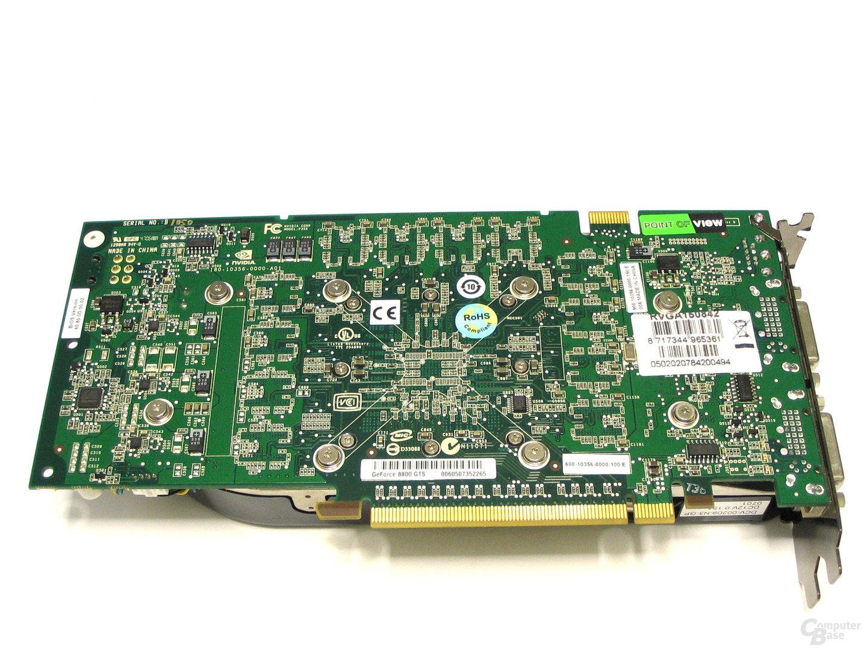 POV 8800 GTS 320 Exo Rueckseite