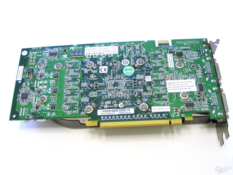 XFX 8800 GTS 320 XXX Rueckseite