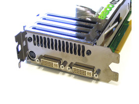 XFX 8800 GTS 320 XXX Slotblech