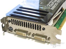BFG 8800 GTS 320 OC Slotblech