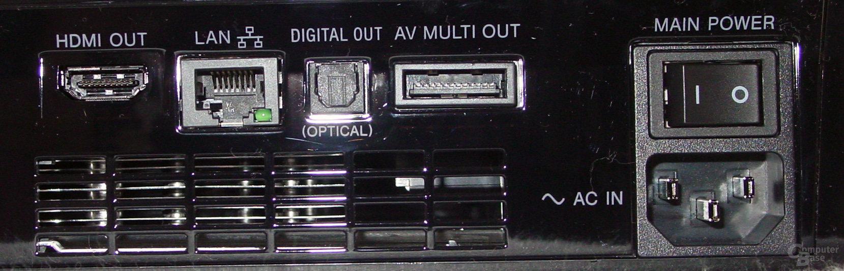 PlayStation 3: Anschlüsse