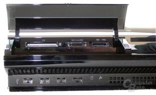PlayStation 3: Kartenlesegerät und USB-Anschlüsse