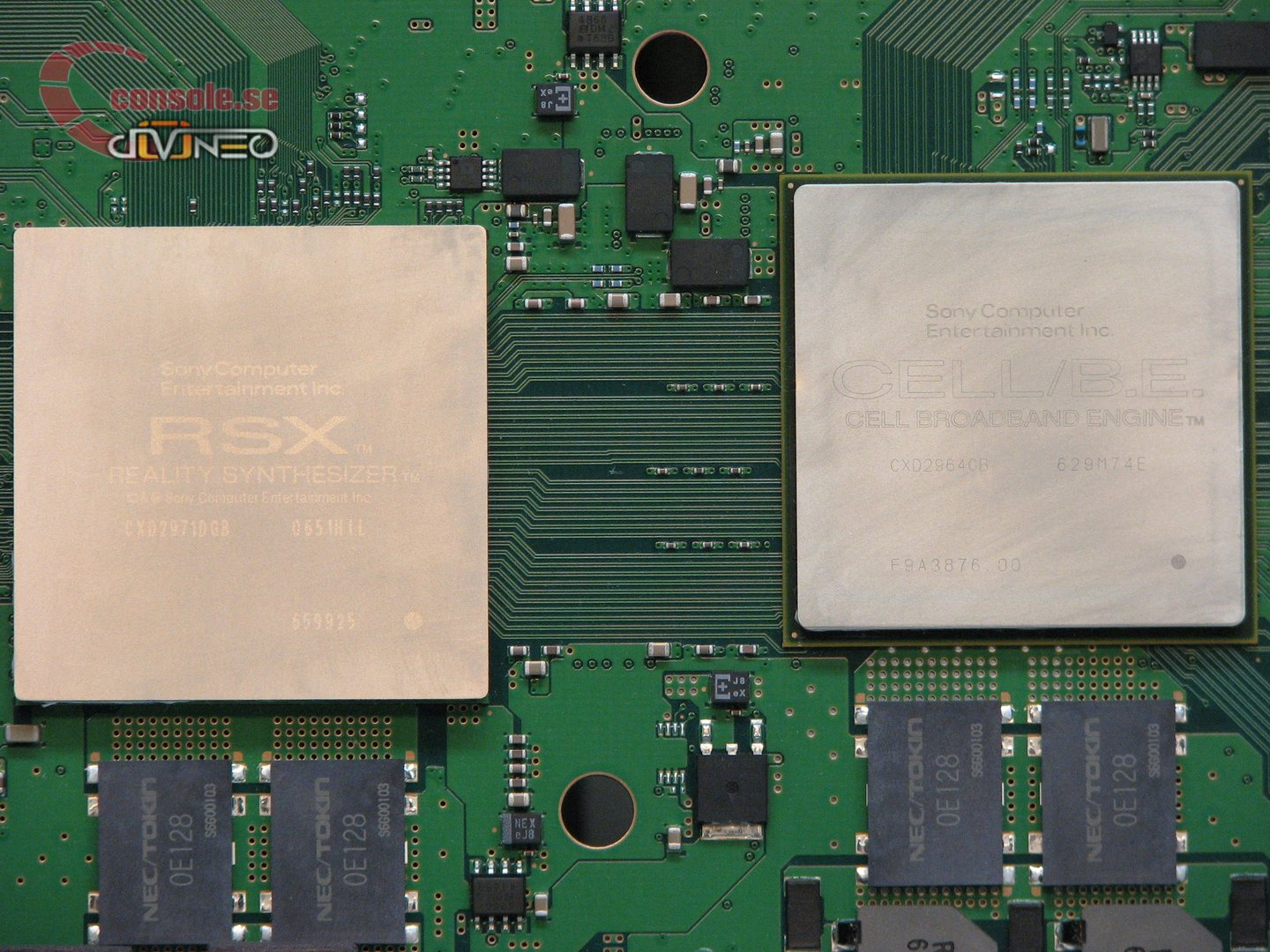 PlayStation 3: Blick ins Innere: CELL-CPU und RSX-GPU | Quelle: console.se