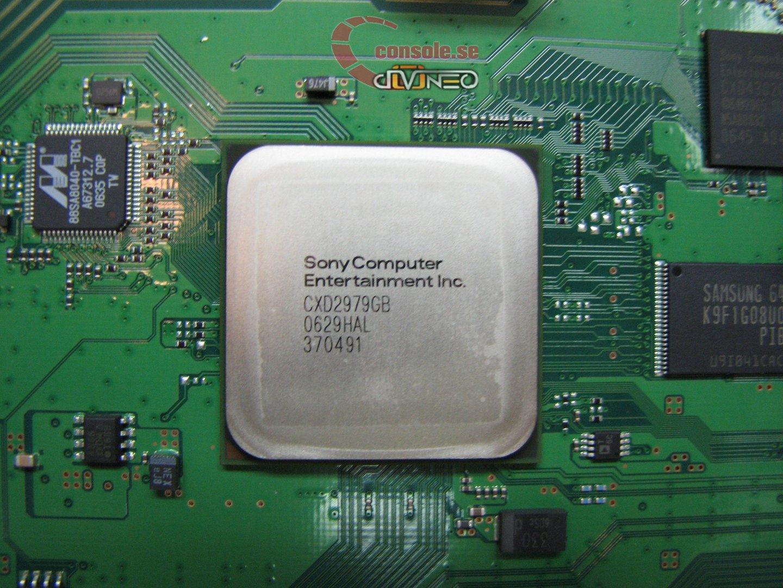 PlayStation 3: Blick ins Innere: Southbridge | Quelle: console.se