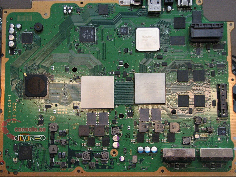 PlayStation 3: Blick ins Innere: Mainboard der EU-Modelle | Quelle: console.se