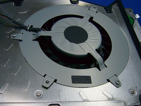 PlayStation 3: Blick ins Innere: Lüfterkonzept | Quelle: http://pc.watch.impress.co.jp