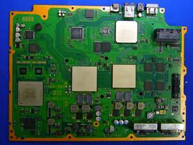 PlayStation 3: Blick ins Innere: Mainboard der US- und Japan-Modelle| Quelle: http://pc.watch.impress.co.jp