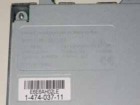 PlayStation 3: Blick ins Innere: Universalt-Netzteil | Quelle: http://techon.nikkeibp.co.jp