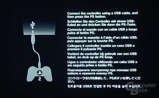 PlayStation 3: Inbetriebnahme