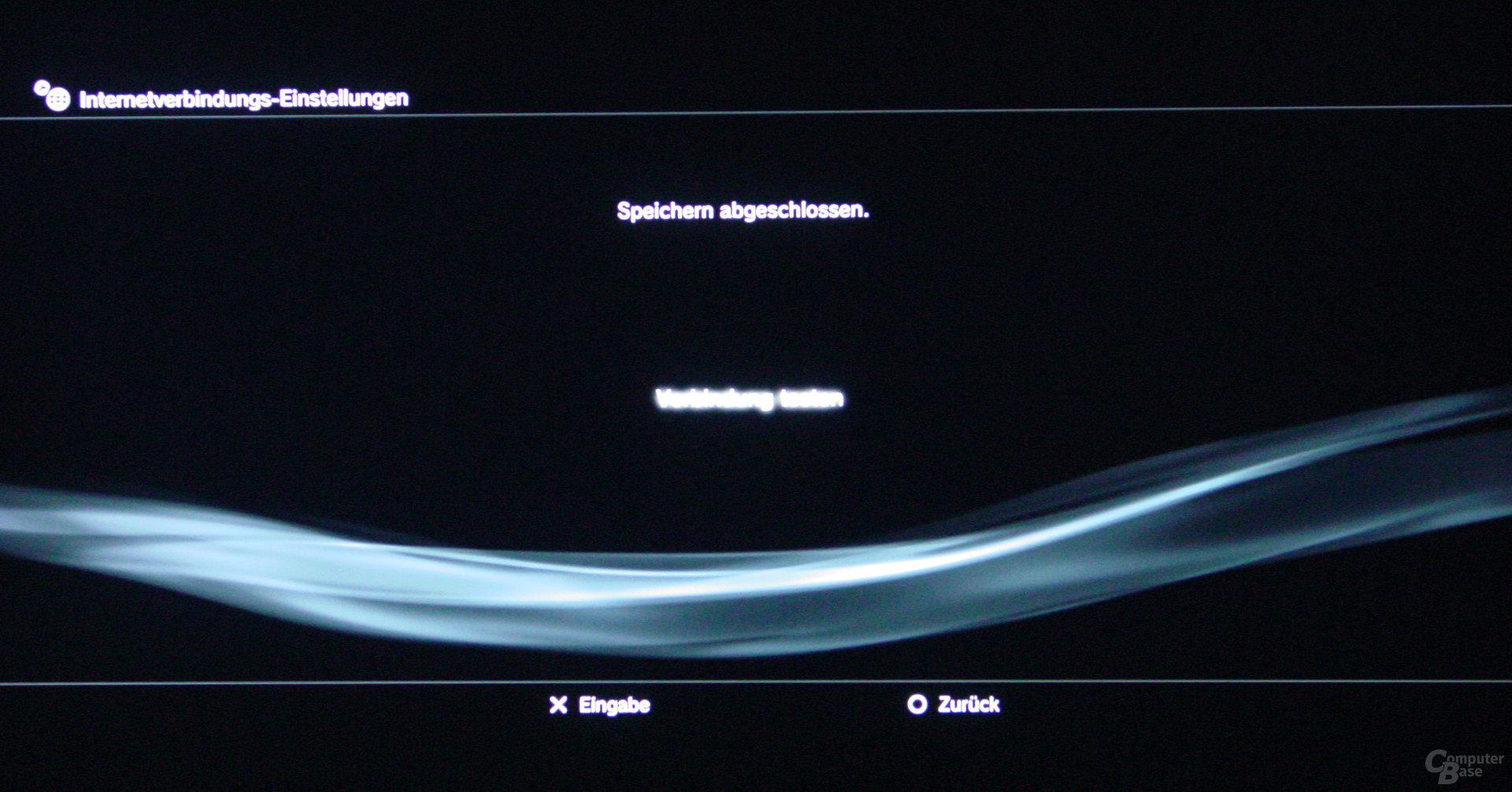 PlayStation 3: Netzwerkeinstellungen