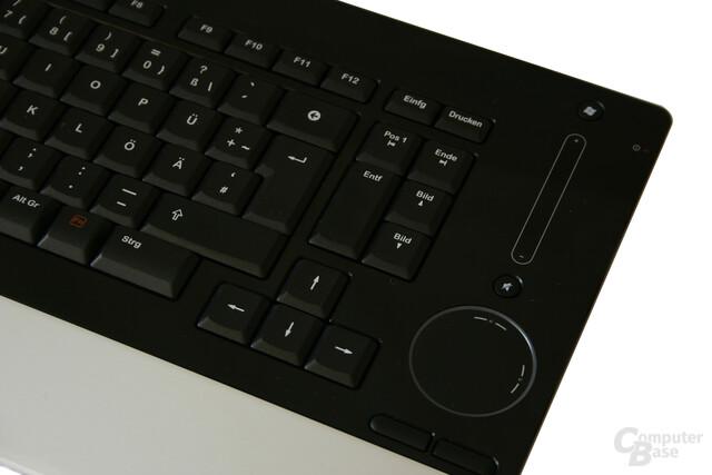 TouchDisc und Lautstärkeregelung