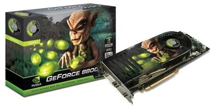 Point of View GeForce 8800 GTS 320MB - Exo Edition