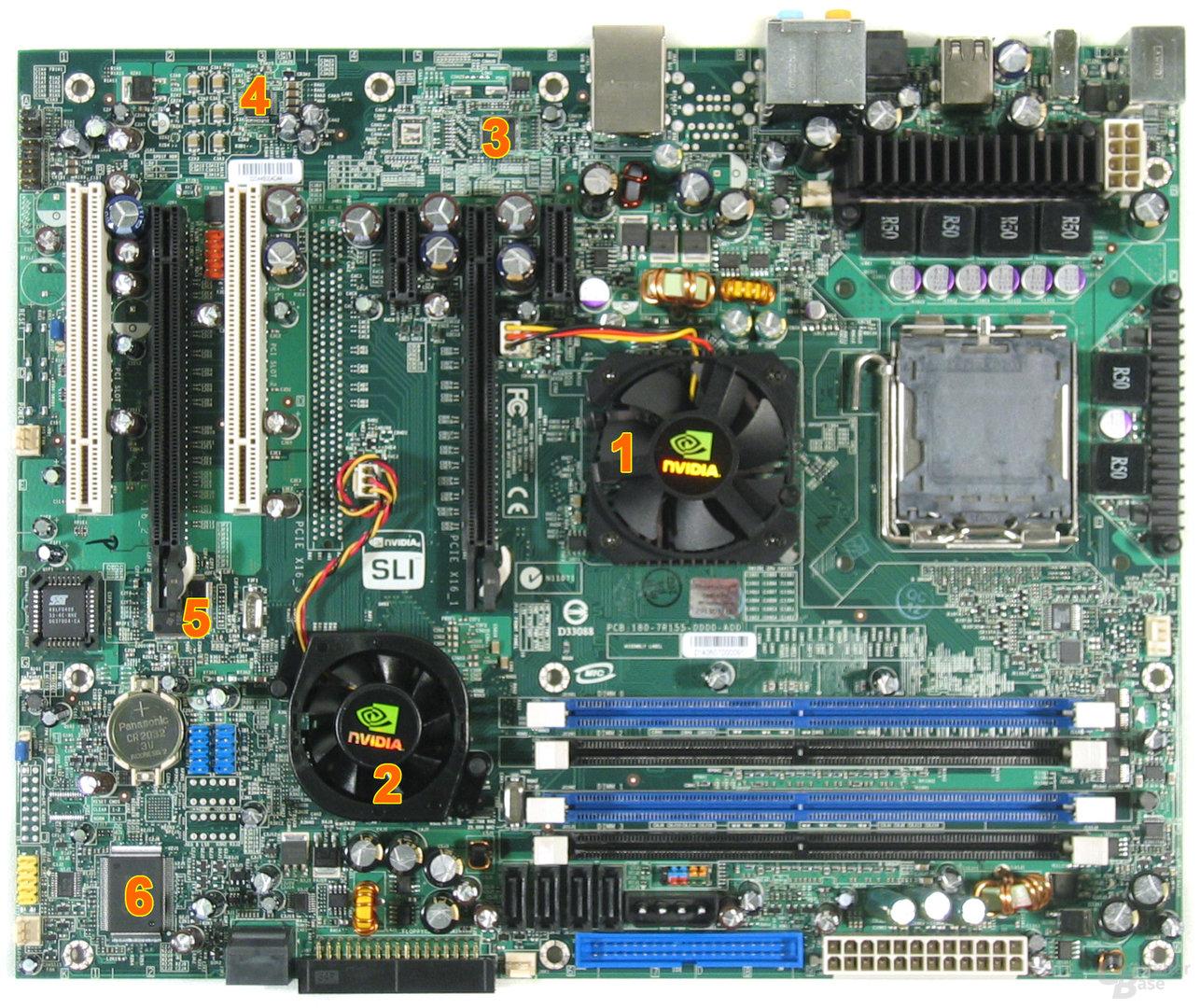 EVGA 122-CK-NF67 Komponenten