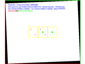 nVidia G80 FSAA-Viewer - 2xAA