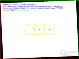 nVidia G80 FSAA-Viewer - 4xAA