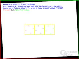 nVidia G80 FSAA-Viewer - 4xTSSAA