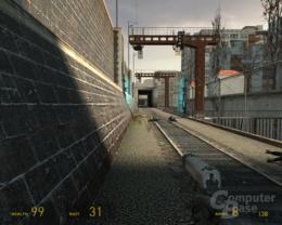 nVidia G80 Half-Life 2 -  1xAF