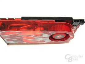 Radeon HD 2900 XT Seitenansicht