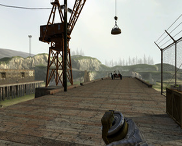 ATi R600 Half-Life 2 -  12xCFAA (Edge Detect Filter)