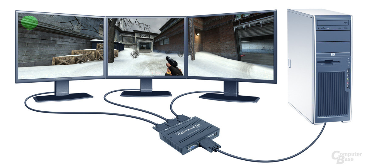 Matrox TripleHead2Go – CounterStrike Source