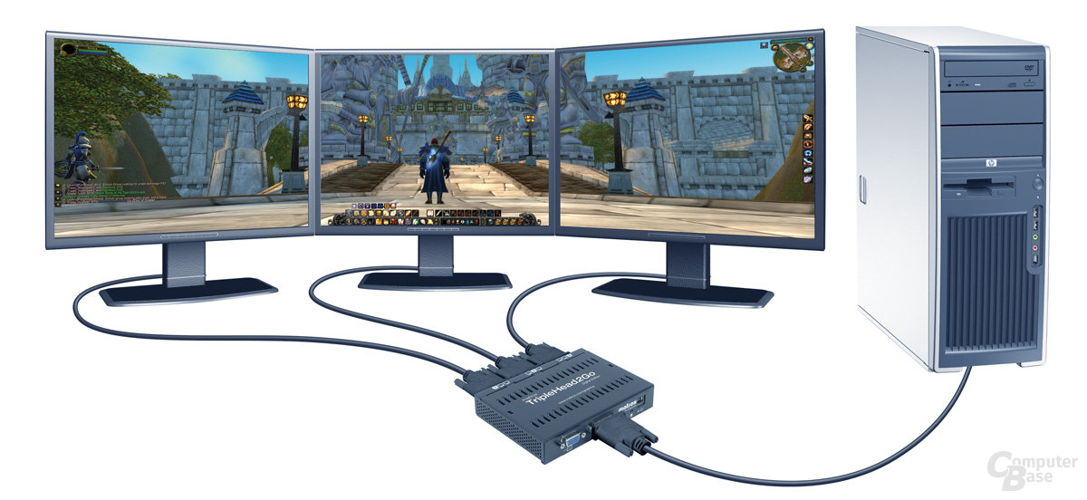 Matrox TripleHead2Go – World of Warcraft