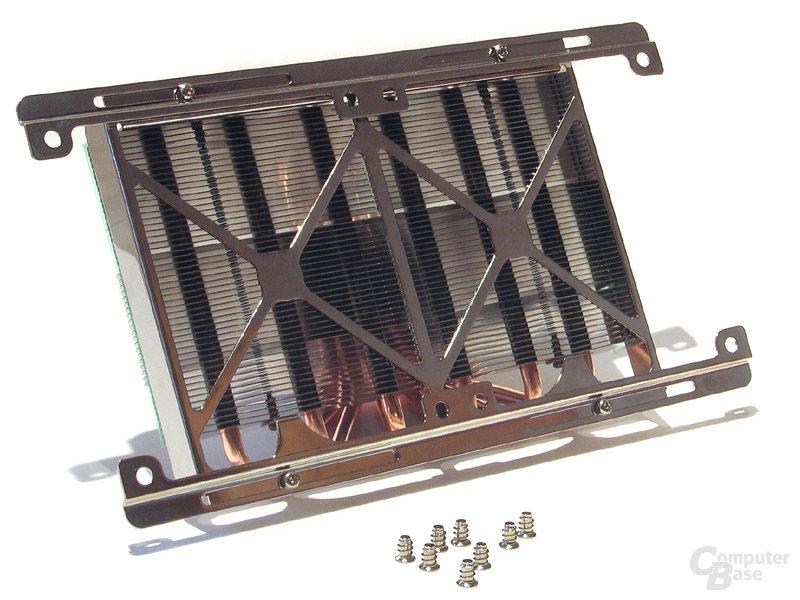 Metallbügel zur variablen Lüftermontage