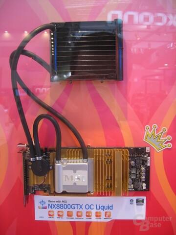 MSI NX8800GTX OC Liquid