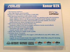 Asus Xonar D2X