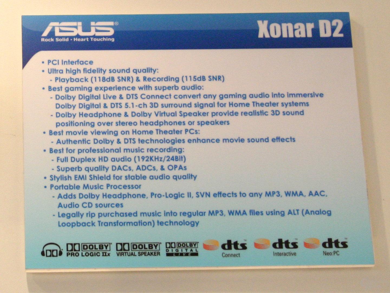 Asus Xonar D2