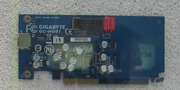 Gigabyte HDMI-Karte Bearlake-G