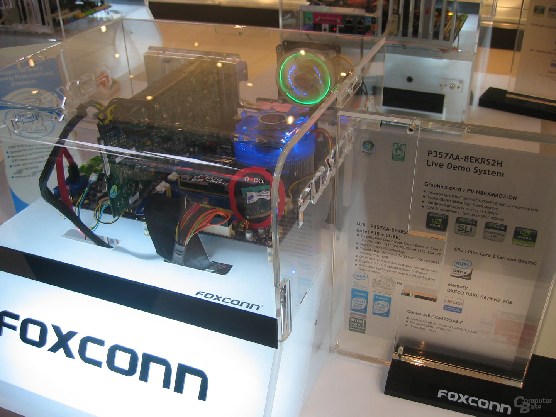 Foxconn P357AA Live Demo