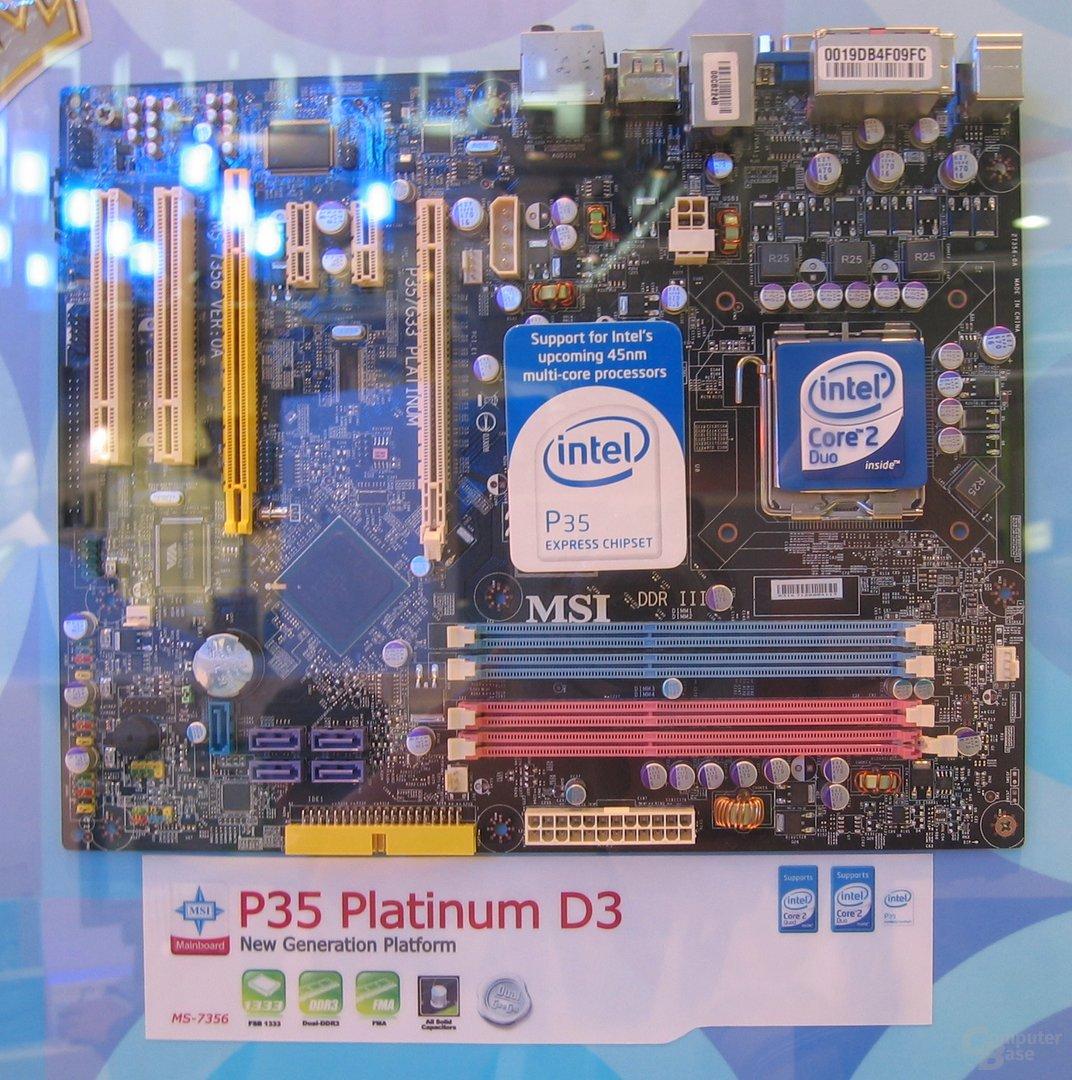 MSI P35 Platinum D3