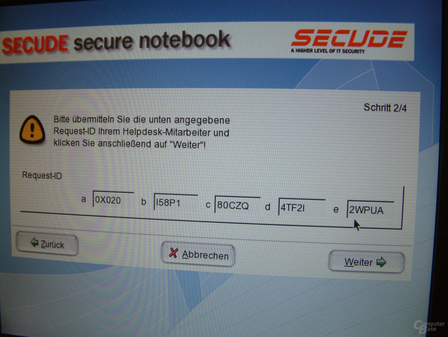 HDD-Verschlüsselung von Secude