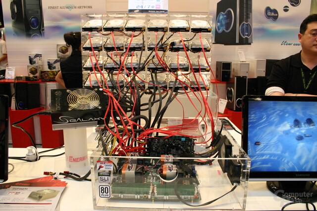 Galaxy DXX 1000 CrossFire – 24 Laufwerke können versorgt werden
