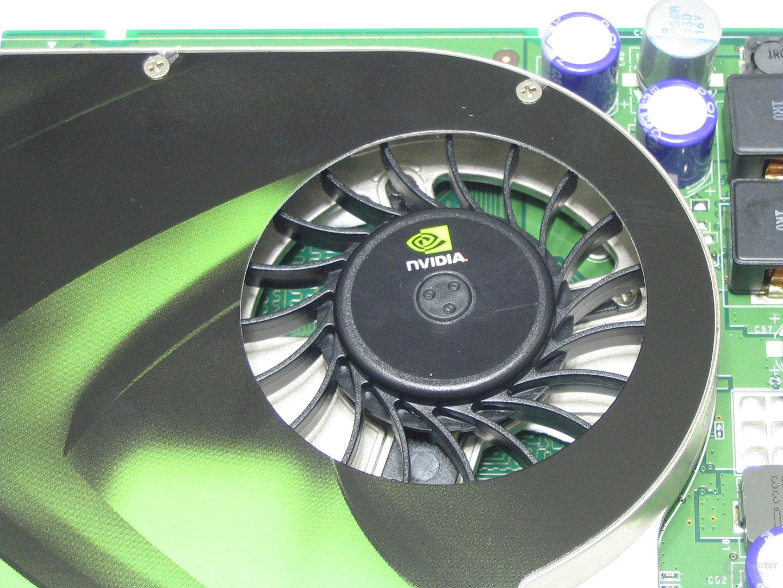 POV GeForce 8600 GTS Luefter