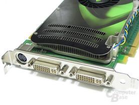 POV GeForce 8600 GTS Slotblech