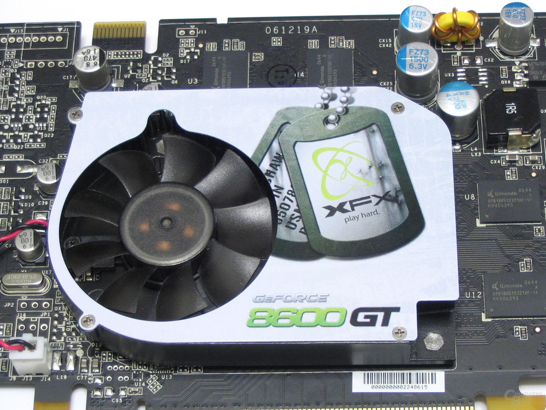 XFX GeForce 8600 GT XXX Kuehler