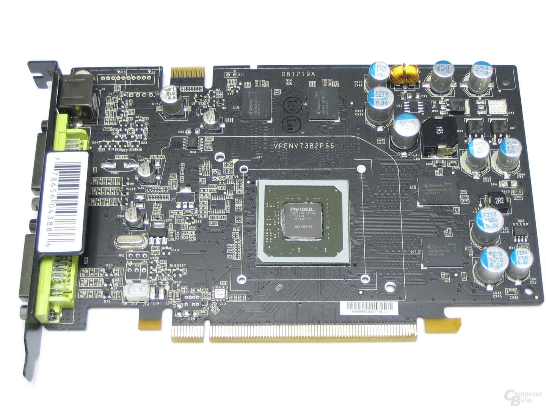 XFX GeForce 8600 GT XXX ohne Kuehler