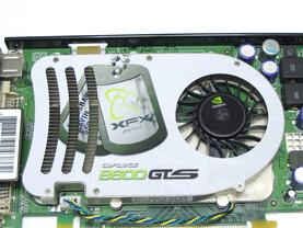 XFX GeForce 8600 GTS XXX Kuehler