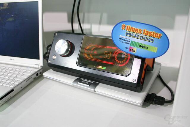 Asus XG Station mit GeForce 7900GS