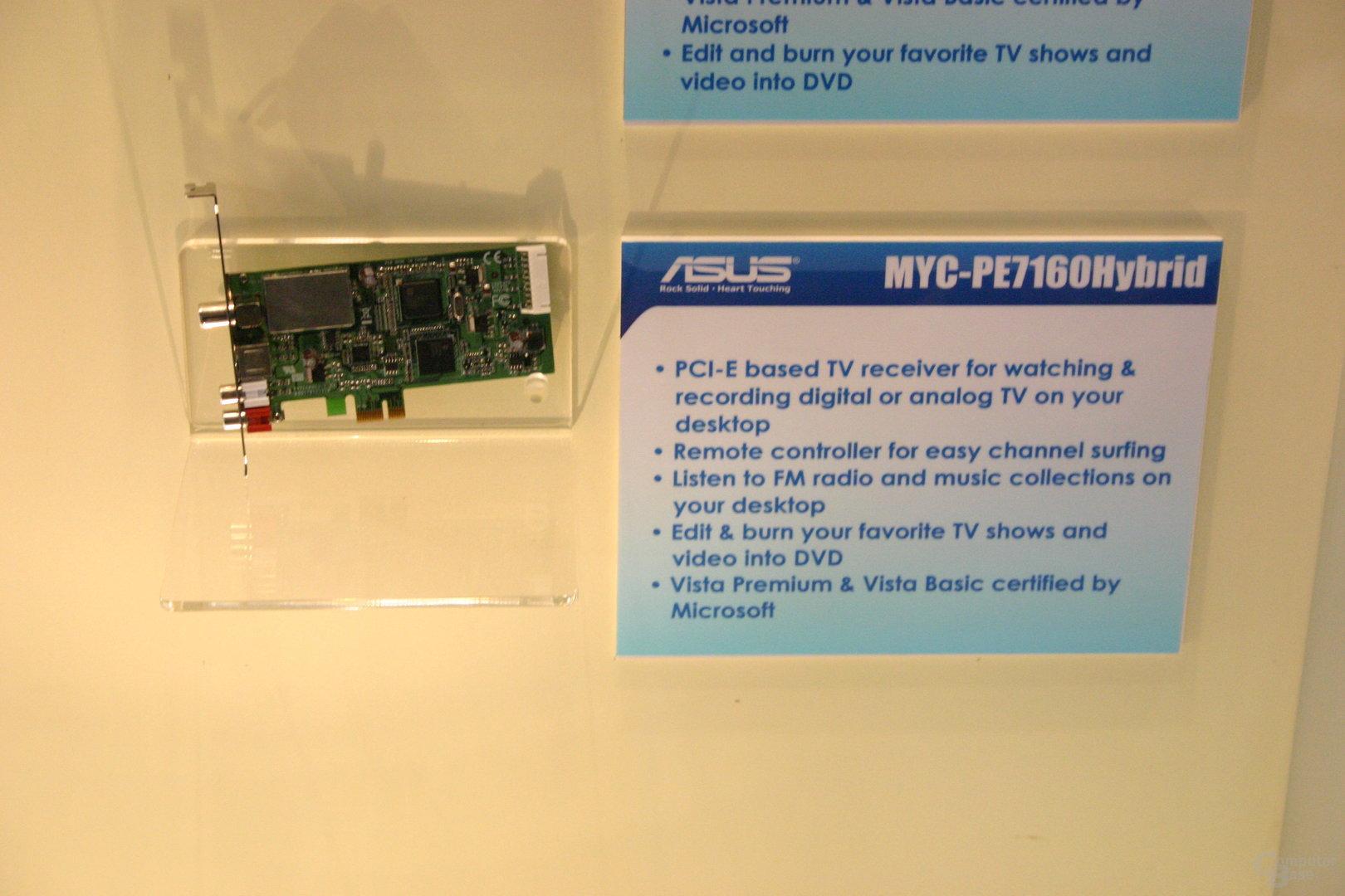 Asus MYC-PE7160Hybrid (DVB-T, Analog)