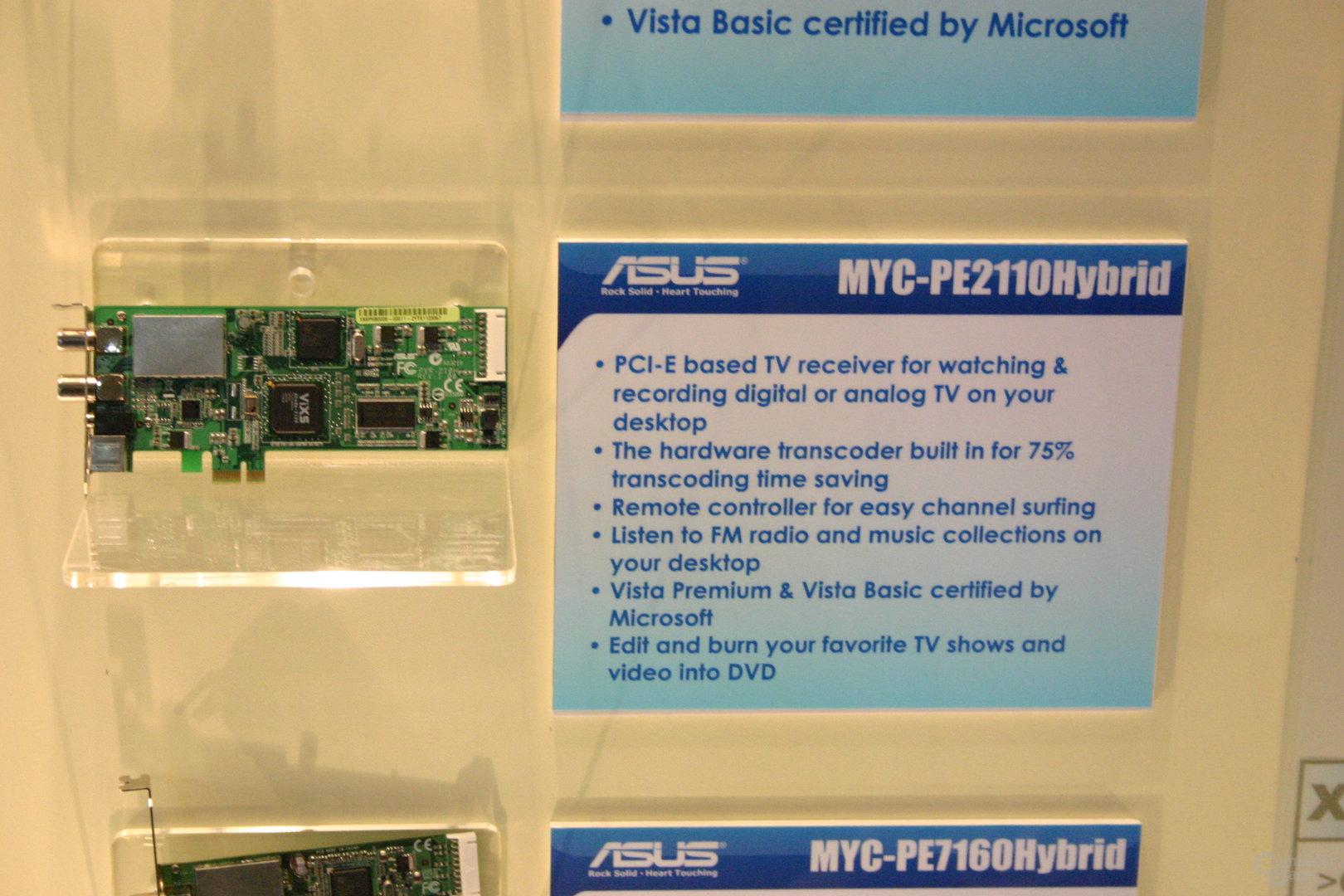 Asus MYC-PE2110Hybrid (DVB-T, Analog)