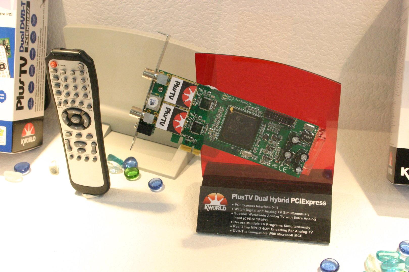 Kworld PlusTV Dual Hybrid PCIExpress (DVB-T, Analog)