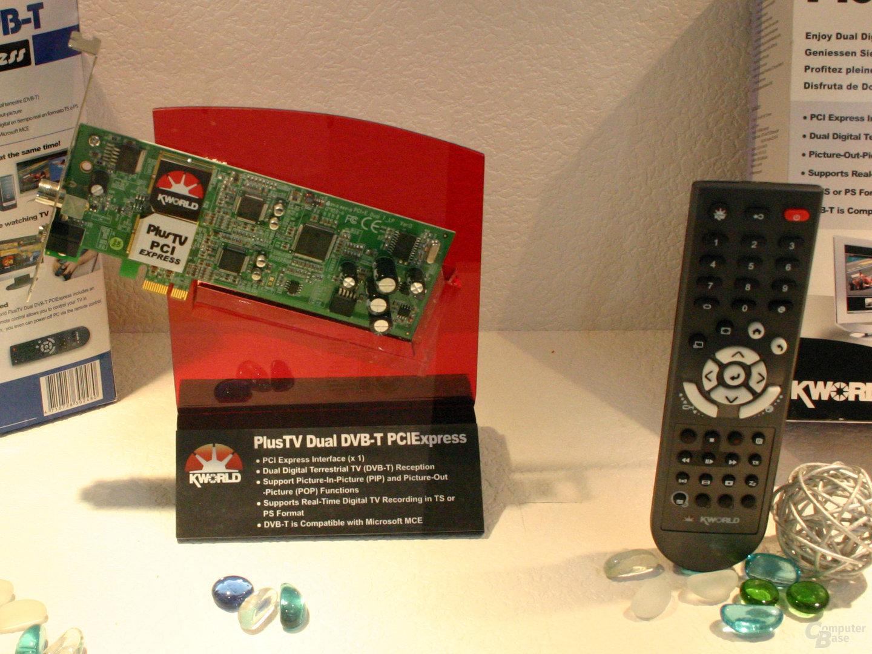 Kworld PlusTV Dual DVB-T PCIExpress (2x DVB-T)